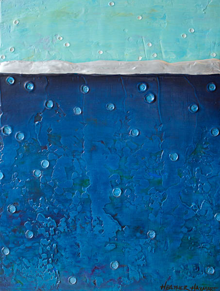 Rainbow Series Blue 2 by Heather Haymart XL