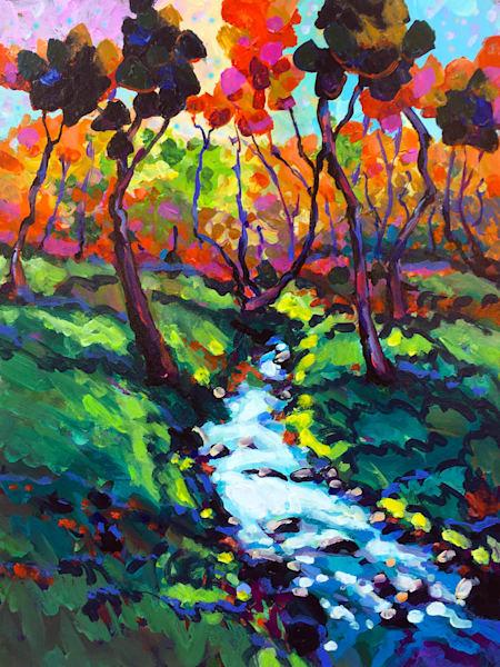 Down By The Little Creek Art | Charles Wallis