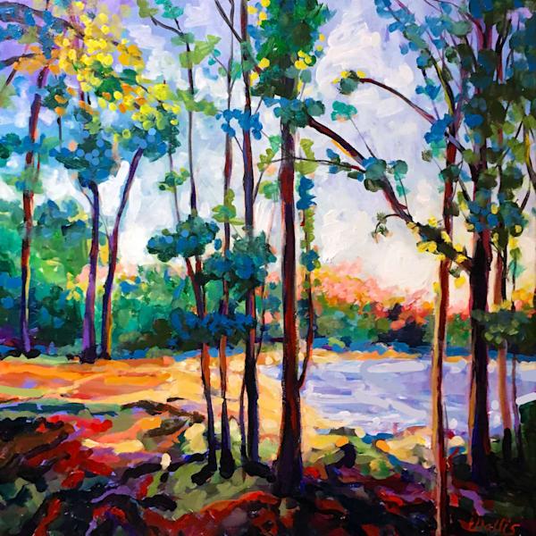 East Texas Piney Woods Pond Art | Charles Wallis