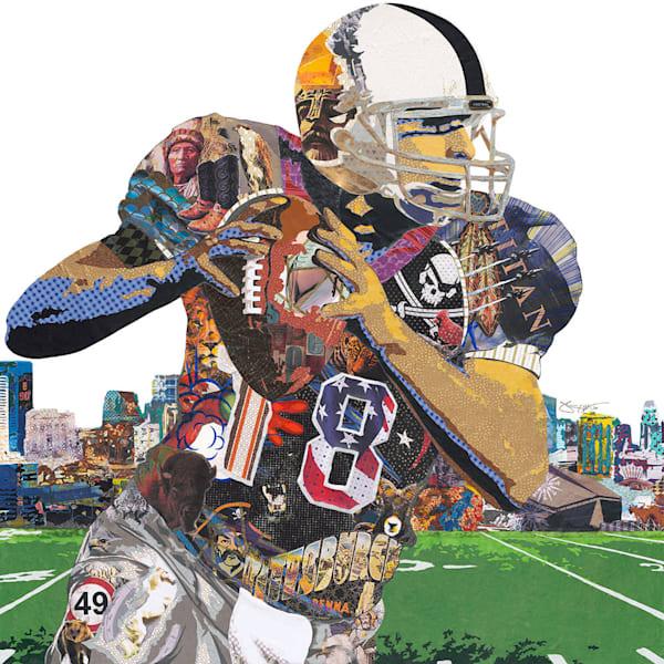 I Am Football Art | Made by Kristi