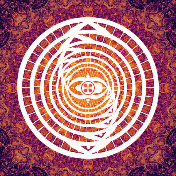 """Galacktiano Mandala"" Meditation Fine Art Print"