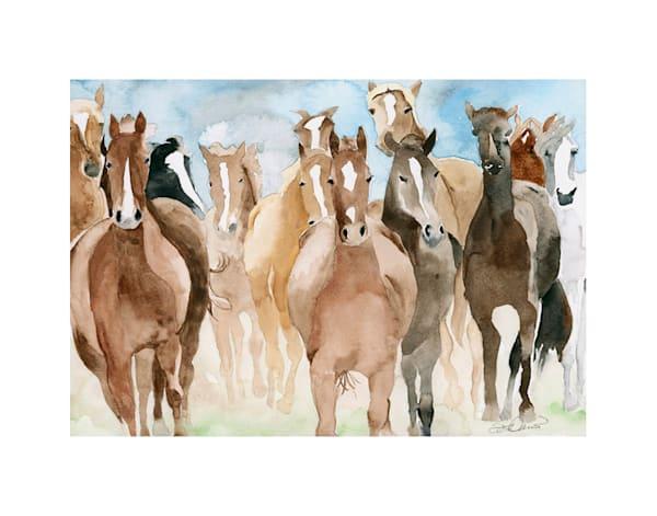 11x14 Horses Running | HFA print gallery