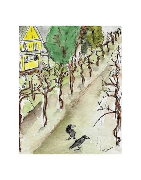 11x14 Winter In The Vineyard | HFA print gallery