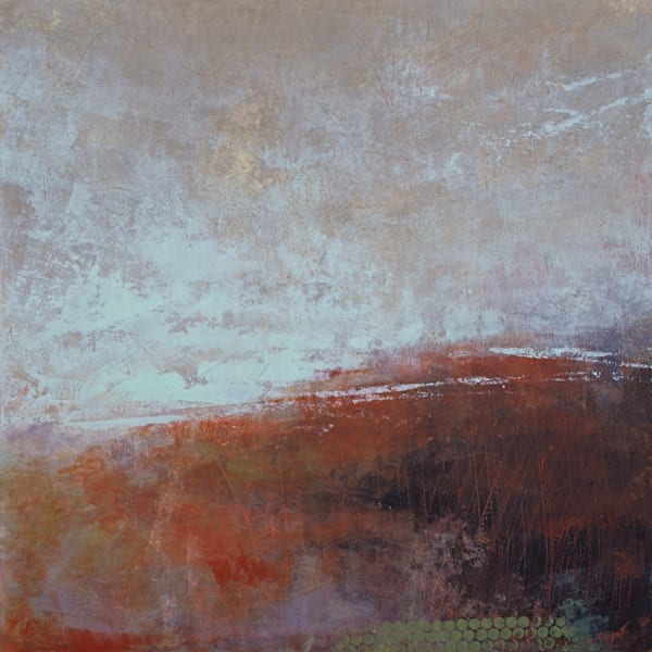 Shadow Hill - Abstract Landscape Paintings - Canvas Art