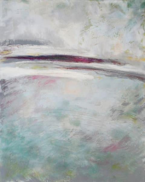 Distant Kiss - Contemporary Landscape Paintings - Coastal Wall Art