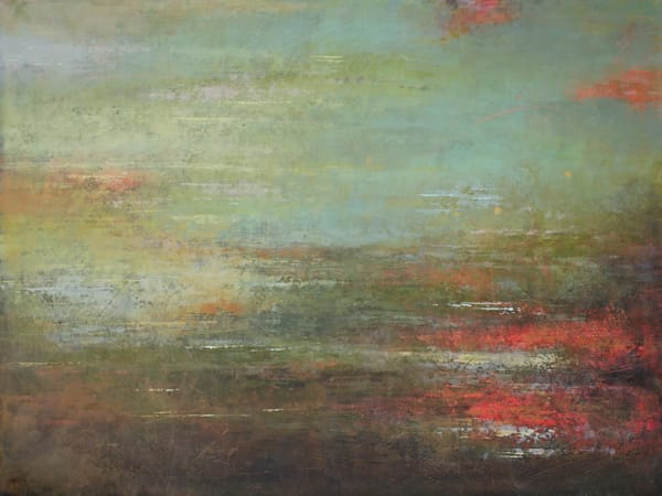Frayed Promises 2 - Modern Abstract Paintings - Inspired by Monet