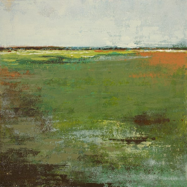 Spring Envy - Painting of Landscapes - Victoria Primicias