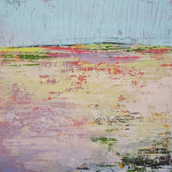 Pink Parade - Seascape Paintings - Landscape Art