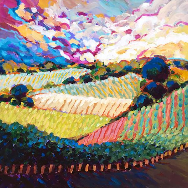Texas Wine Country Art | Charles Wallis