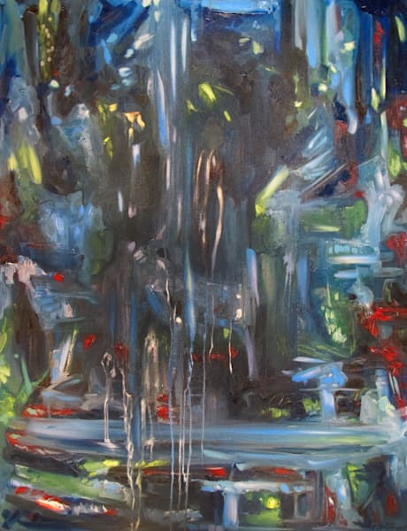 """""""Caverns"""" Abstract Art for Sale"""