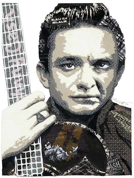 Johnny Cash Art | Made by Kristi