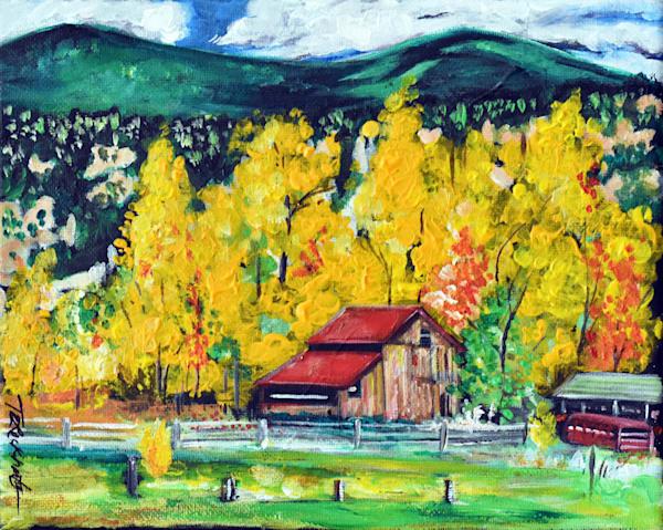 Yellow Autumn  Art   thomaselockhart