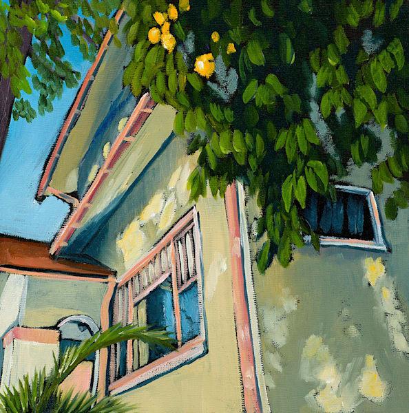 10x10 Sacramento Fruit Tree On Canvas | HFA print gallery