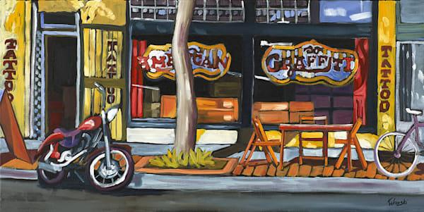 12x24 J St Tattoo On Canvas | HFA print gallery