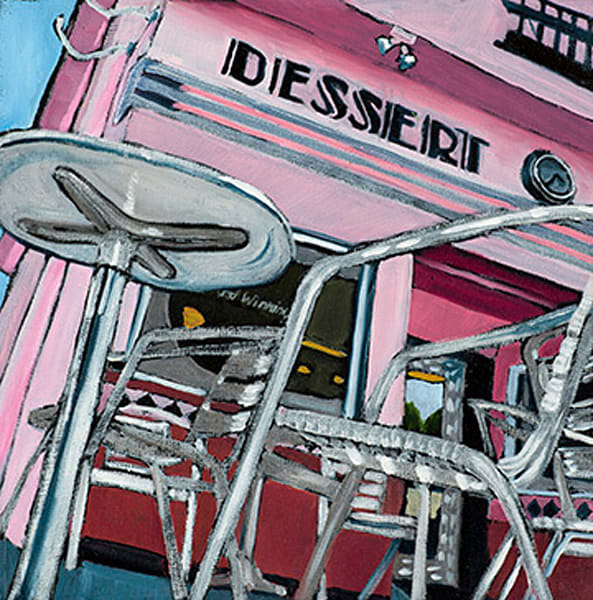 10x10 Rick's Desserts On Canvas | HFA print gallery