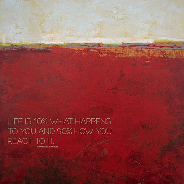 "Merlot Passage - ""Life Is"" Quotes on Wall Art - Swindoll"