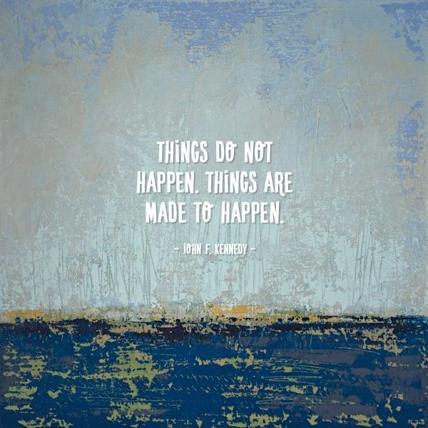 Broken Rules - Motivational Wall Art - Kennedy
