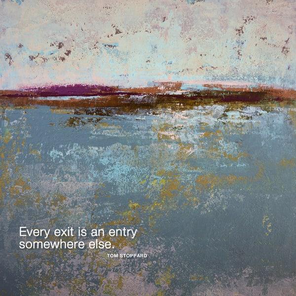 Crimson Limits - Motivational Wall Art - Stoppard