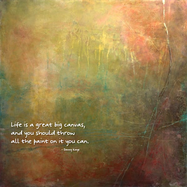 Life Is Quotes on Canvas - Positive Quotes of the Day