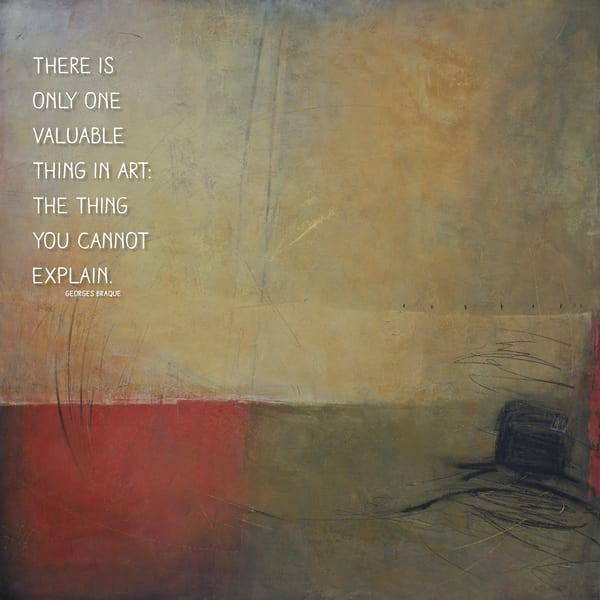 The Other - Zen Art Quotes on Canvas - Braque