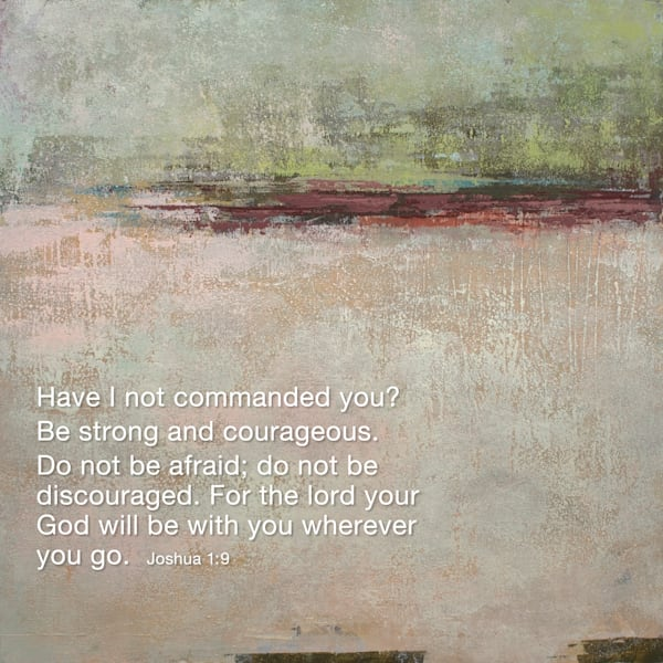 Ruby Landing - Bible Verses on Wall Art - Joshua
