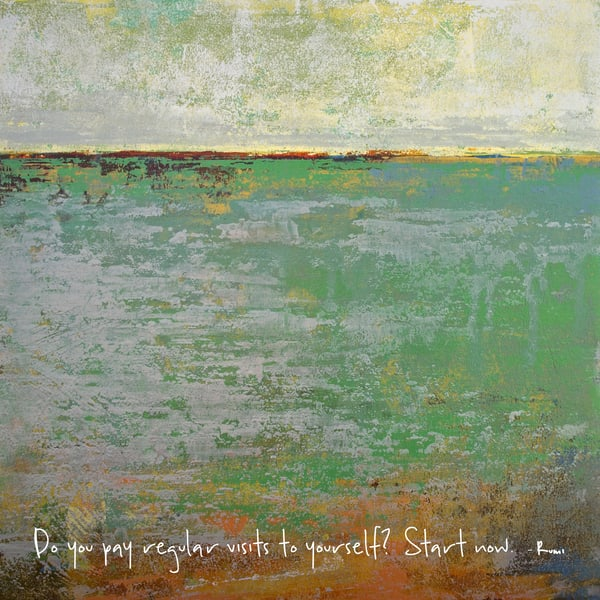 Shamrock Shoals - Zen Quotes on Wall Art - Rumi