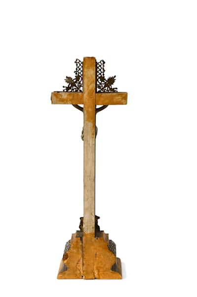Cathedral Cross Fragment | CobaltHouse.com