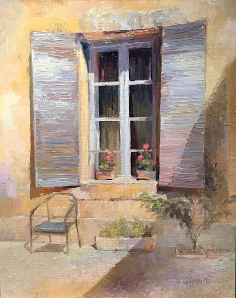 Window In St. Remy De Provence Art | Fountainhead Gallery