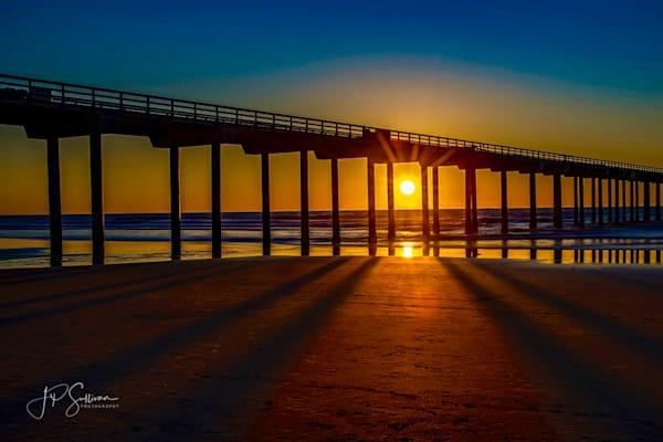 Pier Glo of Sandiego - fine art photography - Incredible Sunset