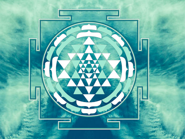 Sri Yantra in the Sky