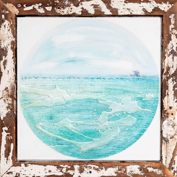 Beach Scene Painting | Jannet Haitas Artist