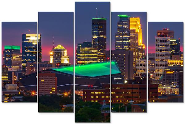 Moneyapolis - Minneapolis Panel Art | William Drew