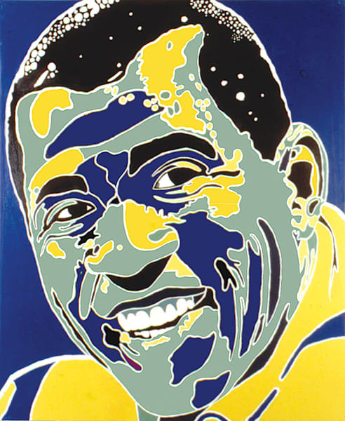 Magic Johnson Art | Sandy Garnett Studio