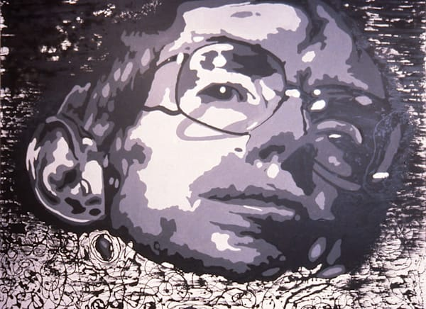 Stephen Hawking Art | Sandy Garnett Studio