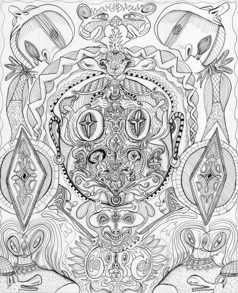 Lastman B/W drawing, Bart Johnson