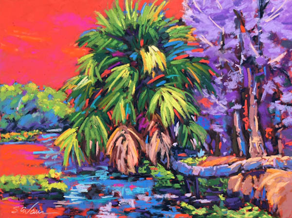 Wekiva Palm in Red