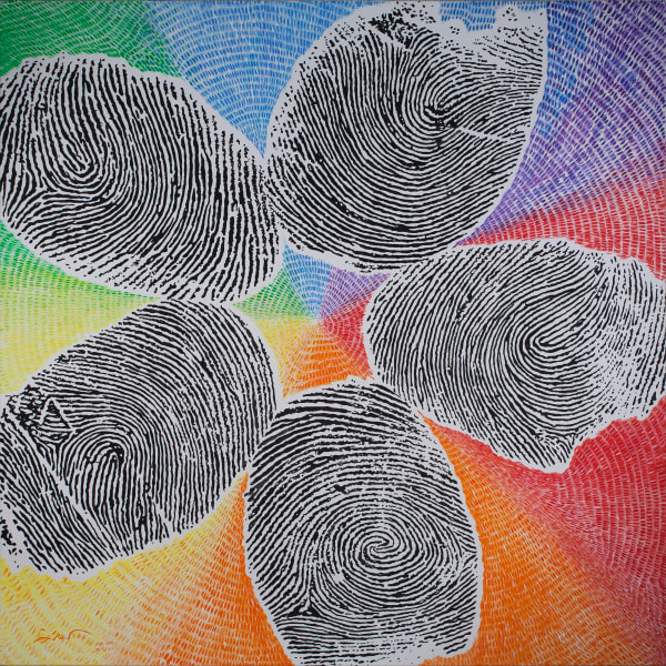Fingerprint Portraits