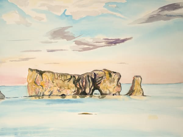 Pierced Rock, Perce Canada Art for Sale