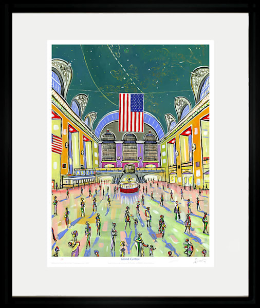 Grand Central Art | Sandy Garnett Studio