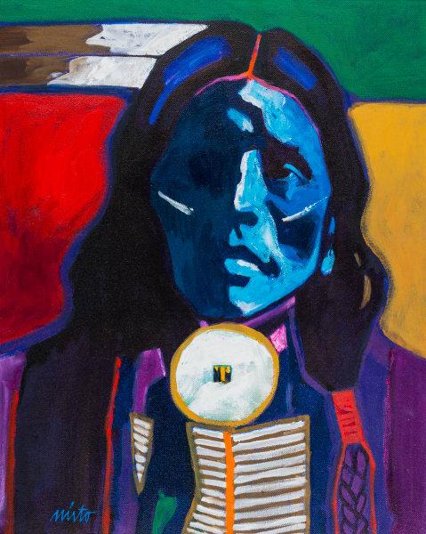Little Thunder   John Nieto Art Open Edition Giclee