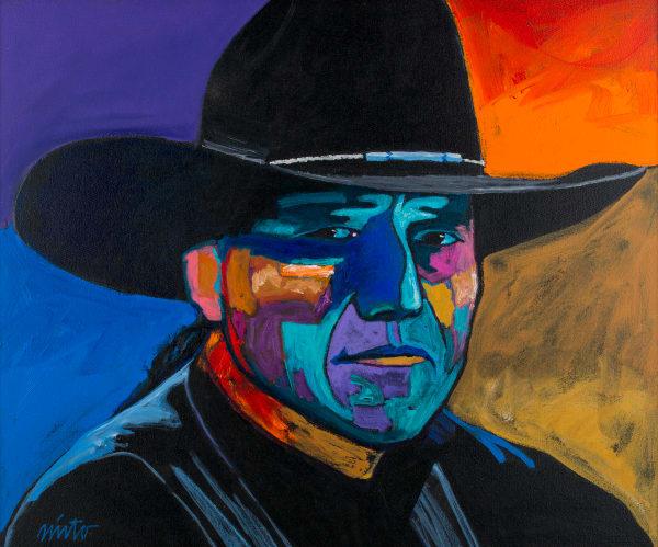 Self Portrait   John Nieto Art Open Edition Giclee