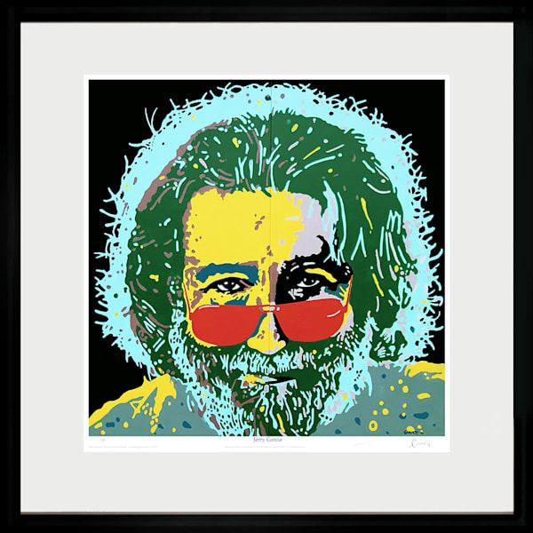 Jerry Garcia Art | Sandy Garnett Studio