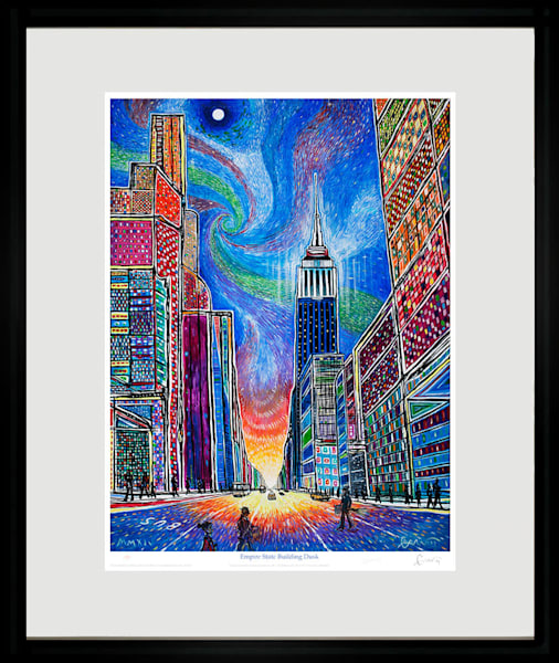 Empire State Nocturne  Art | Sandy Garnett Studio
