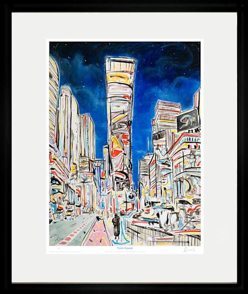 Times Square Art | Sandy Garnett Studio