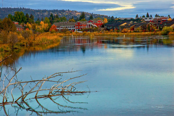 River Bend Sunrise (111071COD8RF) Photograph for Sale as Fine Art Print