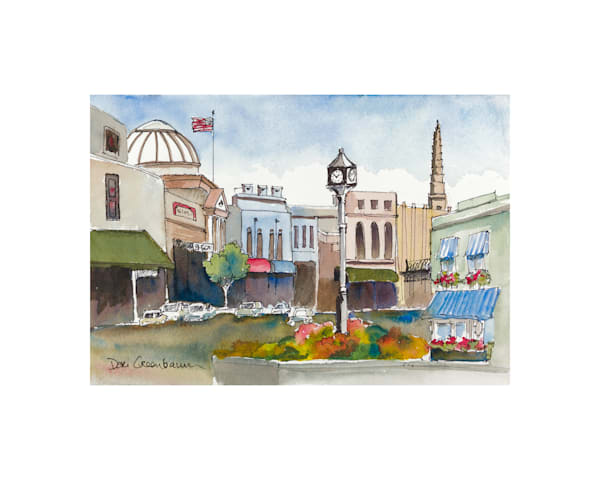 8x10 Grass Valley On Paper | HFA print gallery