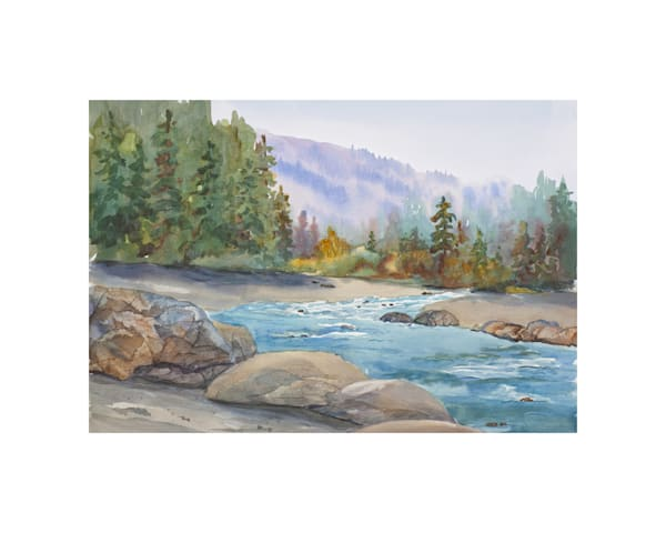 11x14 Bear River On Paper | HFA print gallery