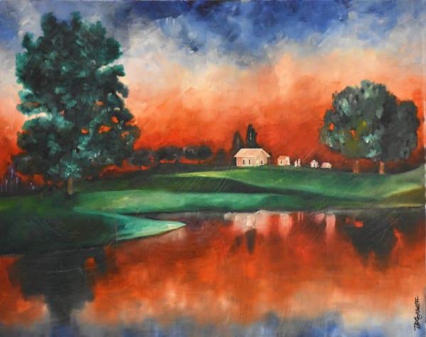 Vibrant Sunset Art | thomaselockhart