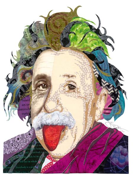 Einstein Art | Made by Kristi