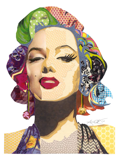Marilyn   Sold Art | Made by Kristi